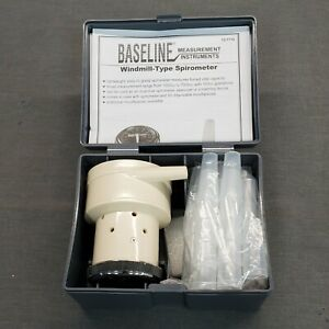 Baseline 12-1710 Spirometer with 50 Mouthpieces
