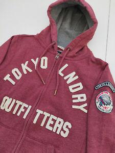 Tokyo Laundry Hoodie Kapuzenpullover > Rot > Größe M