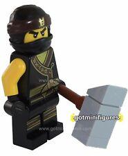 LEGO® The Ninjago Movie COLE black robe ninja minifigure 70618 BRAND NEW
