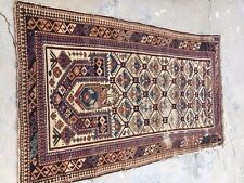 "1860's Antique Dagestan Prayer Rug 3'2"" x 5'8"""