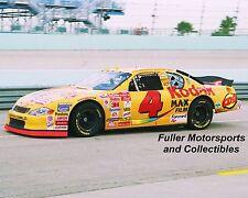 RARE BOBBY HAMILTON JR #4 KODAK FILM CHEVY 2001 NASCAR WINSTON CUP 8X10 PHOTO
