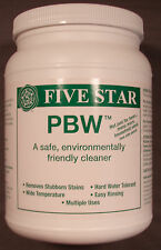 Five Star 4 lb Powdered Brewery Wash PBW Cleaner Home Brewing Kitchen equipment