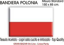 BANDIERA POLONIA cm. 150 X 85  flag