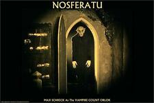 NOSFERATU - MAX SCHRECK POSTER - 24x36 SHRINK WRAPPED - VAMPIRE MOVIE 30796