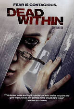 Dead Within HORROR ZOMBIE MOVIE NEW DVD Amy Cale Peterson SEALED FREE SHIPPING