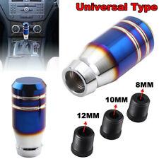 Universal Bride Burnt Blue Aluminum Car Gear Shift Lever Knob Stick Shifter 80MM