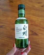 1 Mini Hakushu Japanese Single Malt Whisky Empty Glass Bottle 180ml