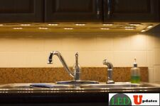 20ft Under Cabinet Countertop LED light warm white remote & UL power LEDUPDATES