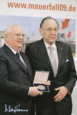Michail Sergejewitsch Gorbatschow original signiertes Foto 20 x 30 cm In Person