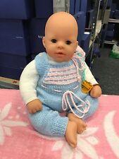 Zapf Puppe Vinyl Puppe 46 cm. Top Zustand
