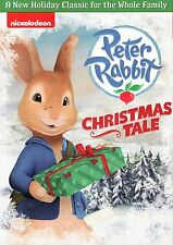 PETER RABBIT // CHRISTMAS TALE // NICKELODEON CLASSIC dvd BRAND NEW, FREE SHIP