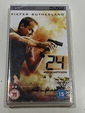 24 Redemption New UMD Movie for PSP Region ALL Will Ship Worldwide!