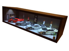 1/18 1:18 SCALE DIORAMA GARAGE DISPLAY ACRYLIC CASE W/ LED LIGHT MADE IN JAPAN ⑧
