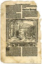 Rare Antique Print-COUNT OF GELRE-SIEGE-UTRECHT-BURGUNDY-Doppere-Vorsterman-1531