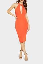 Bardot Fever Plunge Dress Red Red 12