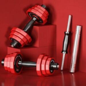 New 40kg adjustable Weights Dumbbells set for Bodybuilding Fitness Workout 2pcs
