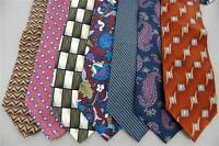 50 ARMANI Dior Brooks Brothers RALPH LAUREN DKNY Silk Mens Neck Ties NECKTIE LOT