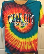 "T-Shirt XL Tie Dyed ""Ocean City"" New Jersey T-Shirt"