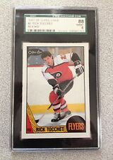 RICK TOCCHET 1987-88 O-PEE-CHEE Card# 2  SGC Graded 88