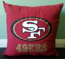 Licensed NFL San Francisco 49ers XL Square Decorative Cushion Throw Pillow