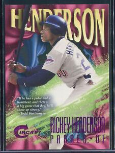 1997 Circa Rave #341 Rickey Henderson /150 *RARE*