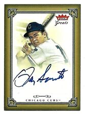 2004 Greats of the Game RON SANTO  Autograph  HOF