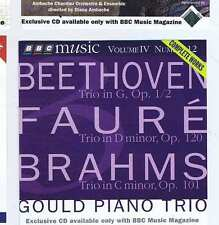 GOULD PIANO TRIO Beethoven Faure Brahms CD BBC MM48 1996