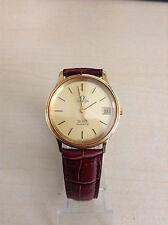 Omega DeVille Quartz Dress Box Gold Plated Watch