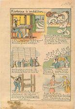 Artisants Tisserands Toile Blanche Mode Broderie Fine Usine Machines France 1935