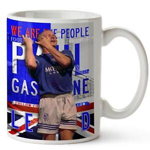 PAUL GASCOIGNE Mug RANGERS Football Legend Cup Christmas Dad Xmas Gift LG60