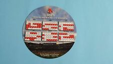 2013 MLB Boston Red Sox 8'' Magnet Schedule