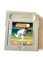 Roger Clemens' MVP Baseball ORIGINAL NINTENDO GameBoy Game Tested Working!