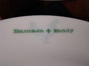 2 Buffalo China Bantam & Biddy Restaurant Ware Dinner Plates