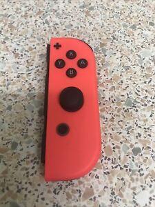Genuine Nintendo Switch Joy Con Right Neon Red