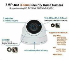 101AV Analog CCTV Dome Camera 5MP 1080P 4in1 (TVI/AHD/CVI/CVBS) 3.6mm Lens