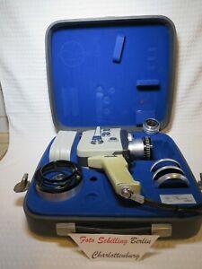 Agfa Movex Reflex mit Variogon 1,8/7,5-37,5 in normalem Gebrauchszustand in box