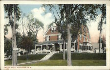 Littleton NH Elliot Hall c1920 Postcard