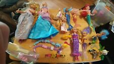 Lot of Dolls Mermaids Barbies & More Lot of 20 plus items some not pictured