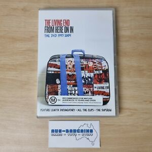 The Living End From Here On In The DVD 1997-2004 - DVD PAL rare sample product