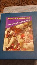 Vintage 1970 Sports Illustrated College Football Joe Theismann *FREE SHIPPING*