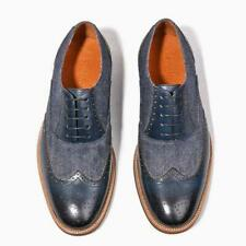 Men's Low Top Real Leather Business Leisure Shoes Work Office Oxfords Lace up L