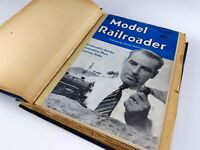 Model Railroader Magazines 1942 Lot 12 Issues Complete Year Kalmbach Publishing