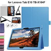 Custodia pelle Per Lenovo Tab E10 TB-X104F Magnetico Stand Libro Smart Cover
