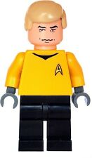 Custom Designed Minifigure - Star Trek Captain James Kirk Printed On LEGO Parts