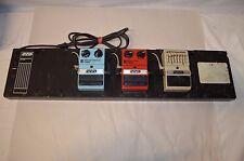 DOD USA FX105 Power Supply & FX100 pedal board + 3 pedals fx-60 fx-55 fx-40