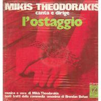 M Theodorakis LP Canta E Legal Dirige L' como Rehenes / Discos Zodiaco Sellado