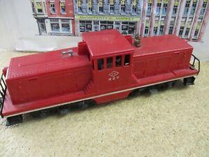VINTAGE 1950'S Lionel O GAUGE No.627 Lehigh Valley 44 Ton Diesel Locomotive~RUNS