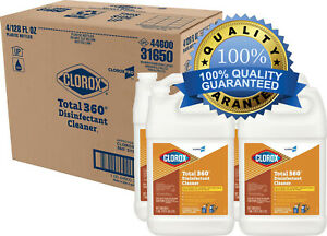 ✅ Clorox Commercial Solutions Total 360 Disinfectant Cleaner, 128oz, 4/cs