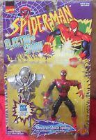 Spiderman ELECTRO SHOCK SPIDER-MAN Mosc New Toybiz