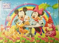 New 40 Pieces Jigsaw Puzzles Mickey Mouse Minnie Drawing Best Gifts for Kids #2
